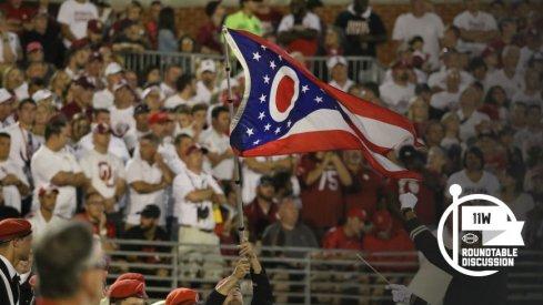 Showed them Ohio's here.