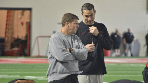 Ohio State's Chris Ash, Luke Fickell meet in 2014.