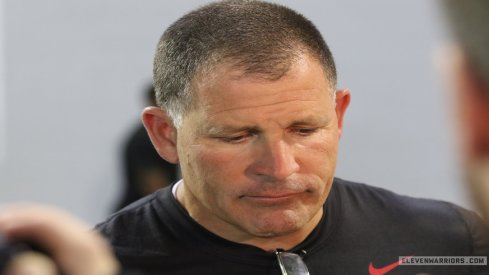 Urban Meyer said Greg Schiano was devastated after he hit a biker with his car.