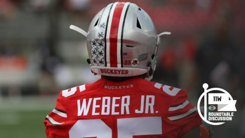 With 495 rushing yards through four games, Mike Weber is on pace for over 1,600 yards as a first year starter.