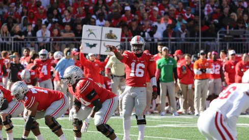 Tim Beck sees J.T. Barrett working with a sense of urgency this week for the Wisconsin game.