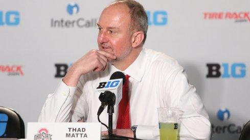 Ohio State head coach Thad Matta.