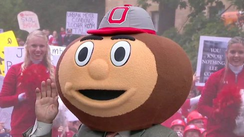 Lee Corso picks Ohio State to beat Wisconsin in Madison.
