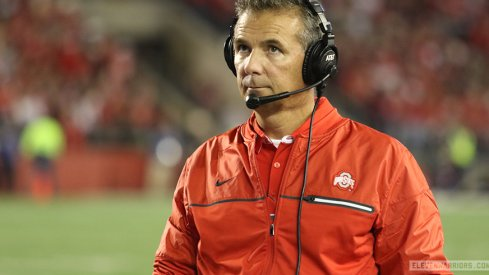Urban Meyer in Madison, 2016