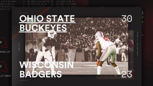 Ohio State Wisconsin Infographic Header