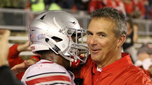 Urban Meyer knows his team needs to improve but said Tuesday he loves where it's at.