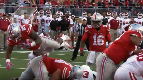 Ohio State-Indiana highlight.