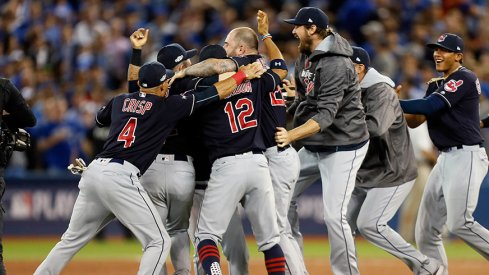 The Cleveland Indians topped the Toronto Blue Jays in the ALCS and a lot of Ohio State athletes are happy.