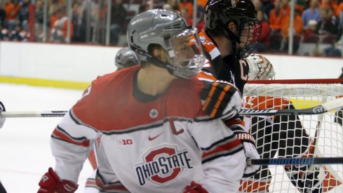 Nick Schilkey contributed three points in Ohio State's home opening win over Bowling Green.