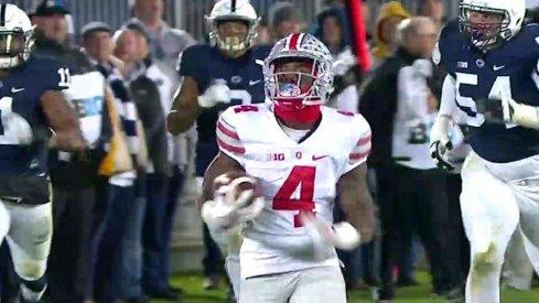 Curtis Samuel 74-yard touchdown run.