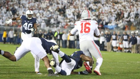 Three key stats from Ohio State's 24-21 loss to Penn State.