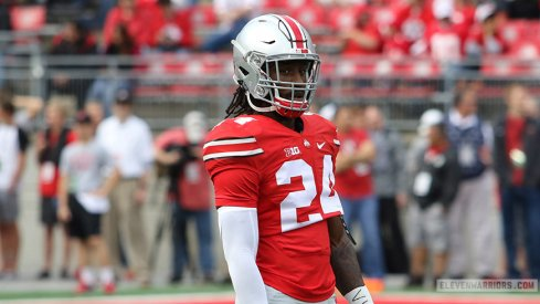 Malik Hooker and the Buckeyes are still favored by Las Vegas to win the Big Ten.