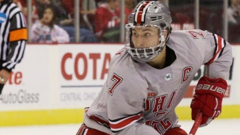 Ohio State captain Nick Schilkey is Big Ten Hockey's Second Star of the Week.