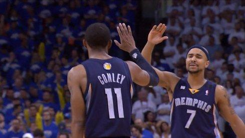 Memphis Grizzlies point guard Mike Conley
