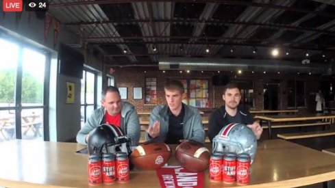 11W Live: Jason, Eric and Tim talk Buckeyes at Land-Grant Brewing.