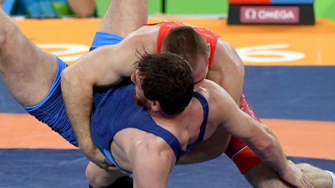 Ohio State's Kyle Snyder destroying a dude at the 2016 Summer Olympics in Rio