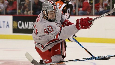 Ronnie Hein netted two goals for Ohio State against Niagara.