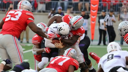 Ohio State piled up on Northwestern to seal the win.
