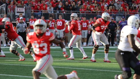 It hasn't translated to the field, but Urban Meyer sees proper steps being taken in the downfield passing game.