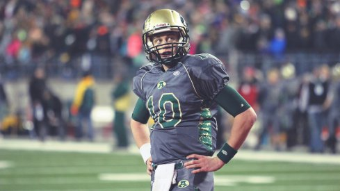 Ohio State quarterback Joe Burrow during the 2014 Division III state championship