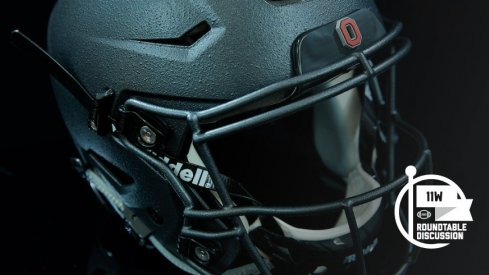 Ohio State will don these nasty helmets in a nod to Chic Harley and the 1916 Ohio State Buckeyes.