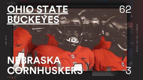 Ohio State Nebraska Infographic