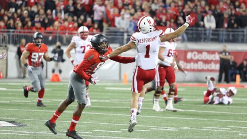 Ohio State's cornerbacks showed they can win on an island against Nebraska.