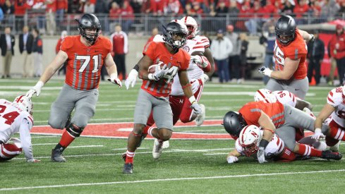 K.J. Hill's recent production is part of his rise in Ohio State's offense.