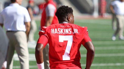 Former Terp commit Dwayne Haskins.