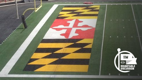 Is that casino carpet or your state flag?