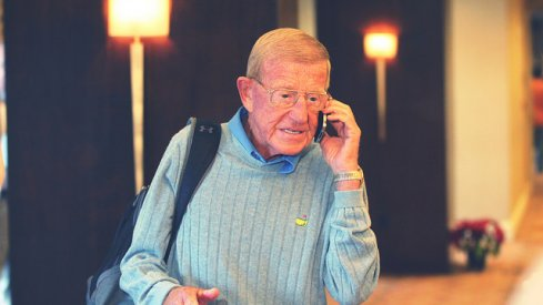 Lou Holtz in 2014.