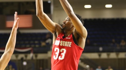 Keita Bates-Diop led the team in scoring and had a double-double.