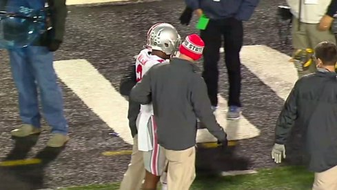 Dontre Wilson leaves Maryland game.