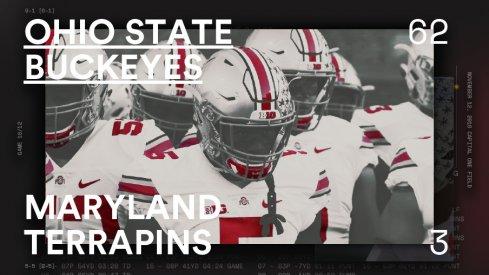 Ohio State Maryland Infographic Header
