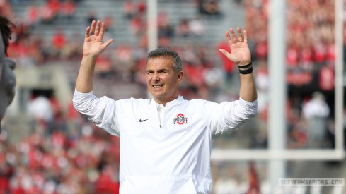 Urban Meyer and his Buckeyes are on a roll and Vegas is eating it up.