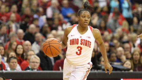 Kelsey Mitchell led Ohio State past Cleveland State.
