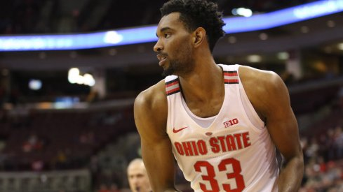 Keita Bates-Diop day-to-day with a sprained ankle.
