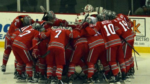 Buckeye hockey prepares for road trips to RPI and Minnesota State.