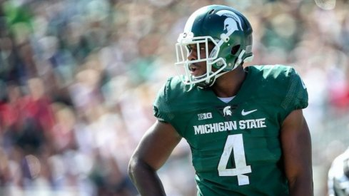 Malik McDowell not listed on MSU dress list.