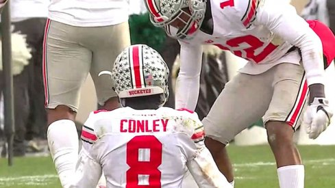 Gareon Conley seals it.