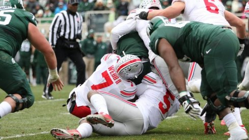 Damon Webb returned to his home state and came up big with seven tackles, 1.5 TFL and a PBU.