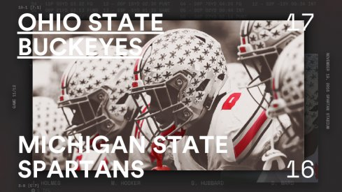 Ohio State Michigan State Infographic Header