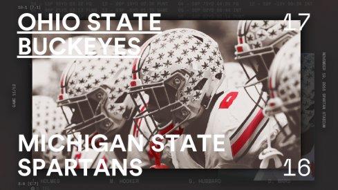 Ohio State Michigan State Infographic Header
