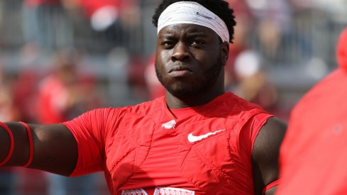 Robert Landers has a foot injury but an Ohio State spokesman said he is expected to play against Michigan.