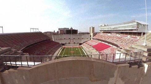 Ohio Stadium will host a war Saturday.