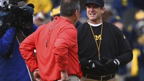 A look at how Urban Meyer and Jim Harbaugh imprinted on the Ohio State-Michigan rivalry in the 80s.