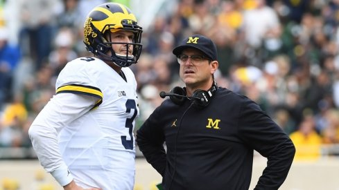 Jim Harbaugh confirms Wilton Speight is practicing.
