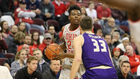 Ohio State freshman wing Andre Wesson