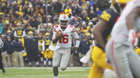 How much Ohio State runs J.T. Barrett against Michigan will be a huge determining factor in The Game.