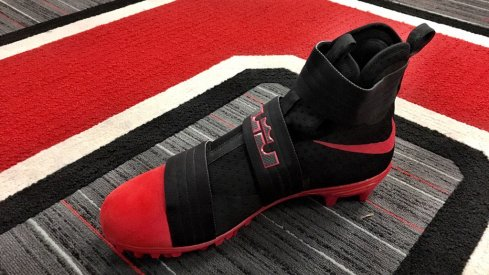 It sure looks like Ohio State is going to wear LeBron cleats against Michigan on Saturday.